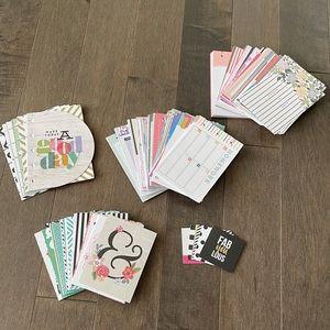 HAPPY PLANNER Journal Scrapbook Cards
